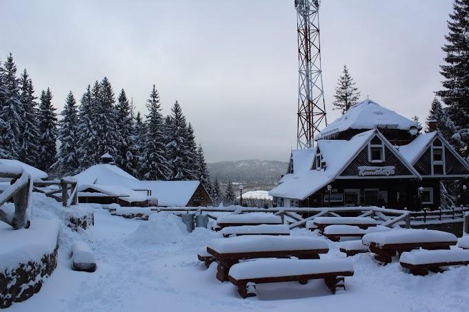 Шклярская Поремба: горнолыжный курорт в Судетах. Фотоотчет.