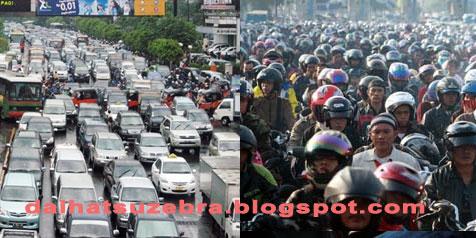 Industri Otomotif Penyebab Kemacetan
