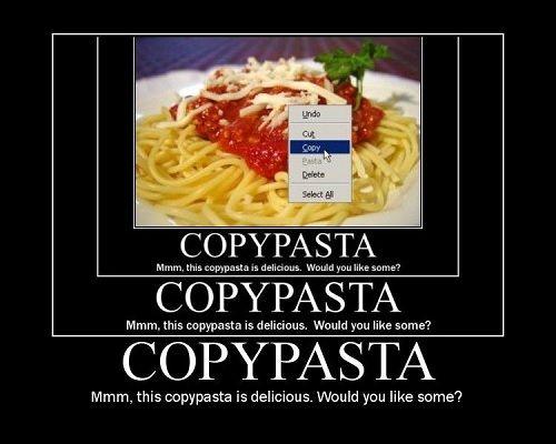 Introducing Copypasta Memes
