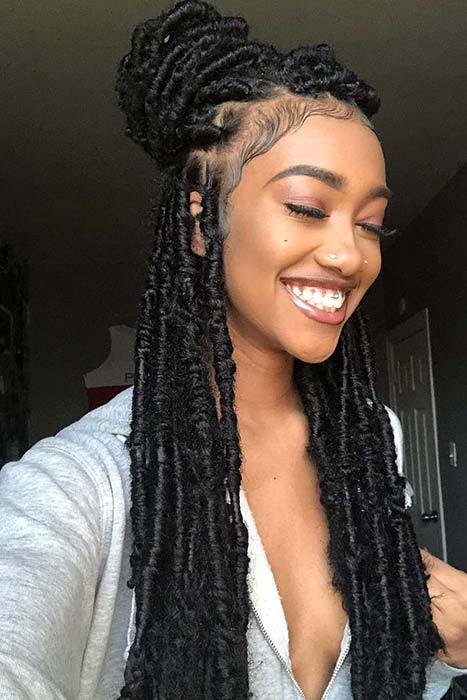 17 Trendy Crochet Faux Locs Hairstyles Create your own ...