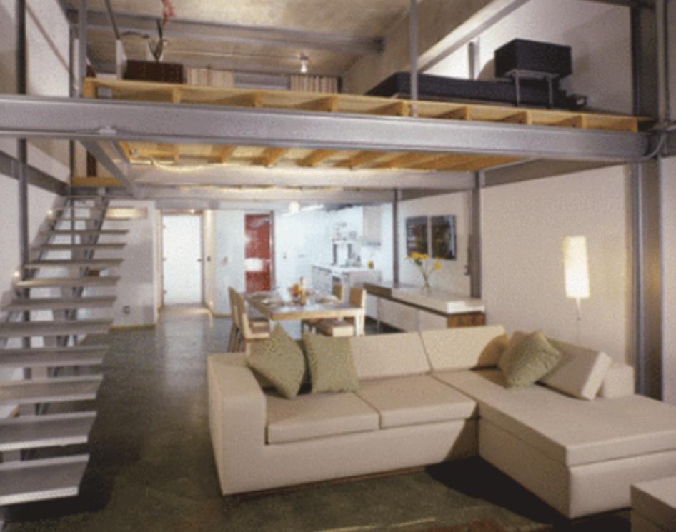 Lofts loft en la cd de m xico for Casa tipo minimalista