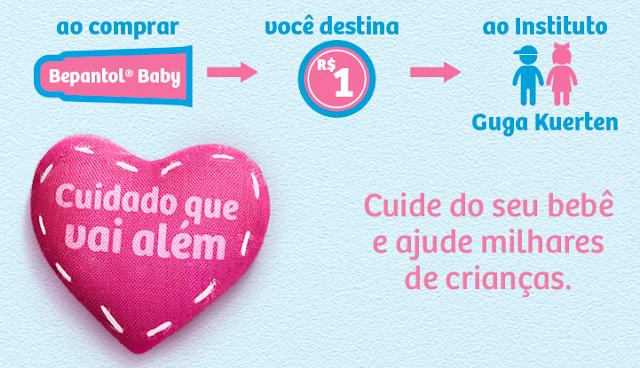 Parceria do Bem – INSTITUTO GUGA KUERTEN E BEPANTOL® BABY
