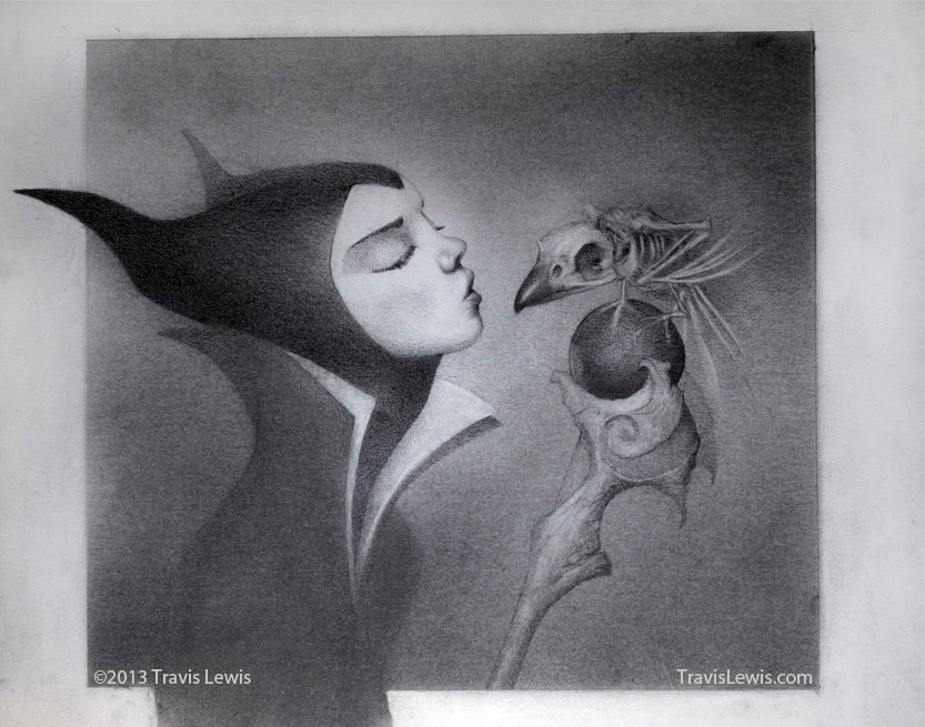 Once Upon A Blog A Smorgasbord Of Maleficent Fan Art