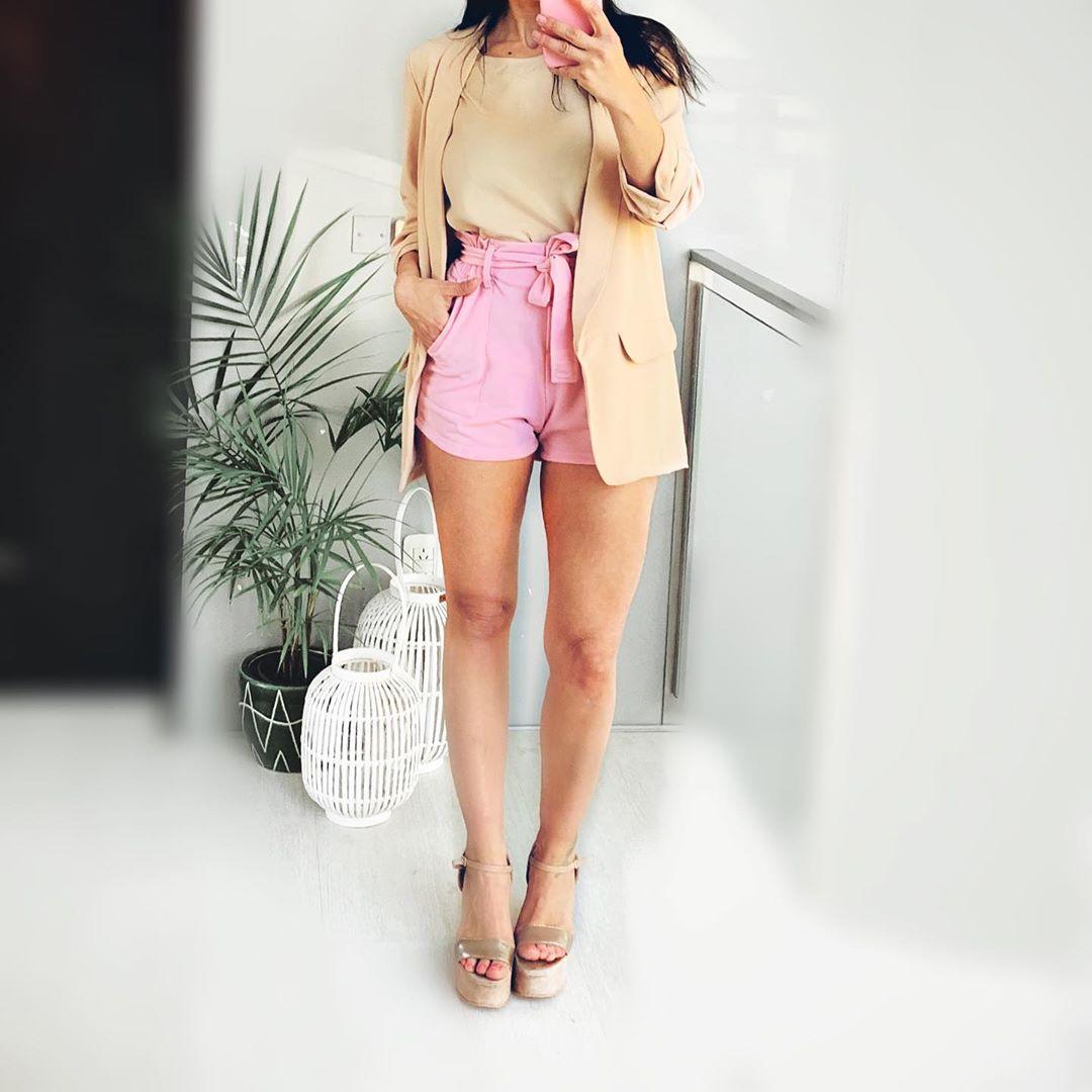 Shorts y blazers moda verano 2020 mujer.