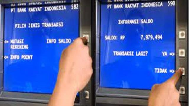 Cara Cek Saldo Di ATM
