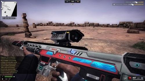 Người chơi nên đề phòng ngừa vì thời gian thay đạn của DSR-1 khá trễ nhé!
