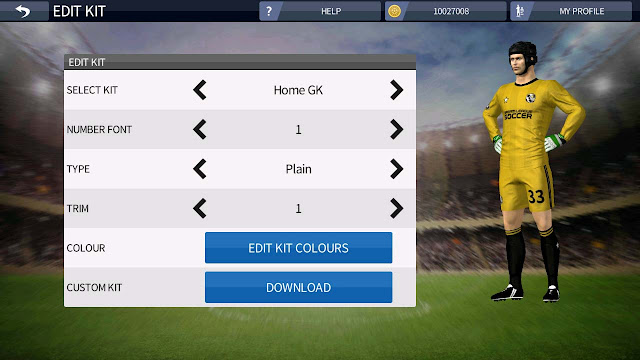 ganti baju pemain dream league soccer