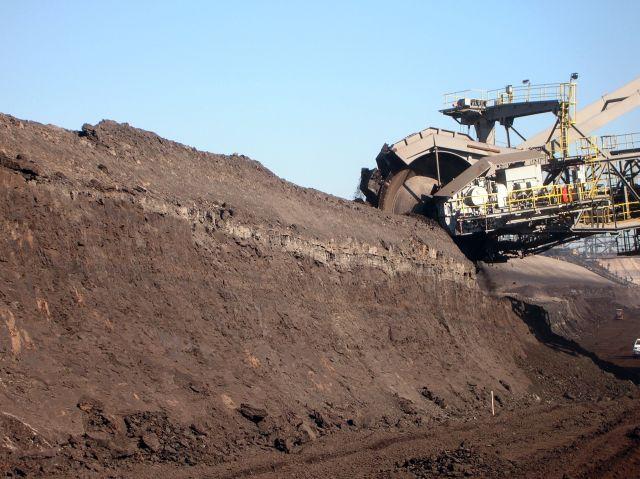 węgiel brunatny, maszyny