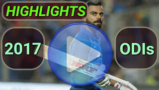 2017 odi cricket matches highlights online