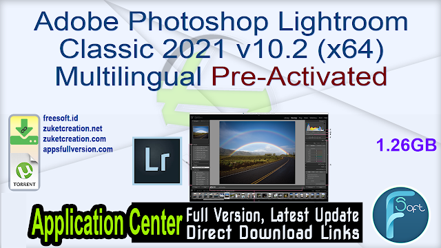 Adobe Photoshop Lightroom Classic 2021 v10.2 (x64) Multilingual Pre-Activated