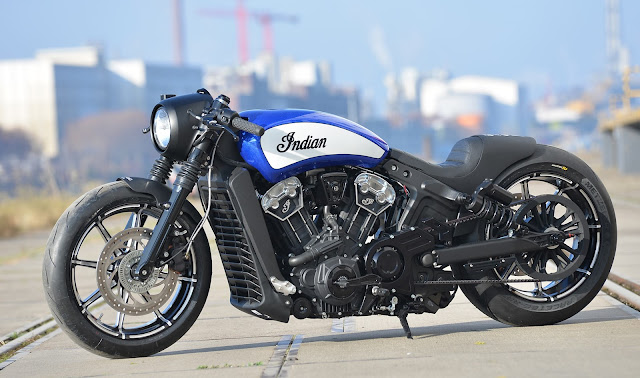 Indian Scout Bobber By Walzwerk Racing Hell Kustom