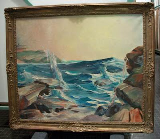 quirk art   Coastal painting