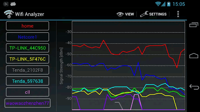Wifi Analyzer - screenshot 5