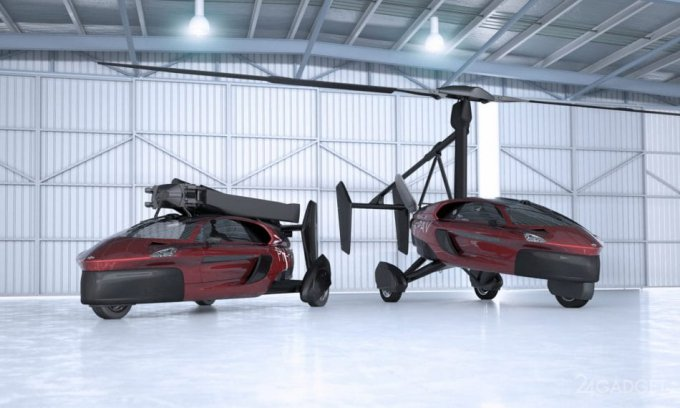 The World's First Flying Car | PAL-V