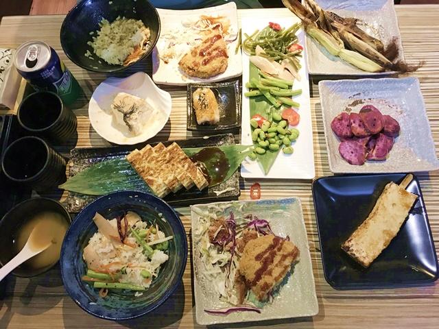 圓蔬食堂~台北市中山區日式素食串燒、定食