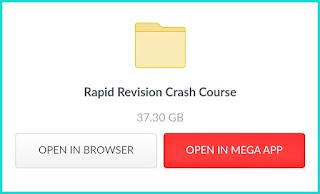 Jee mains 2021 rapid crash course etoos allen 45 days free download Google Drive link or mega drive link