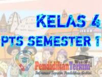 Soal PTS Kelas 4 SD/MI Tema 2 Semester 1 2021 Kunci Jawaban dan Kisi-Kisi Soal, Terkini