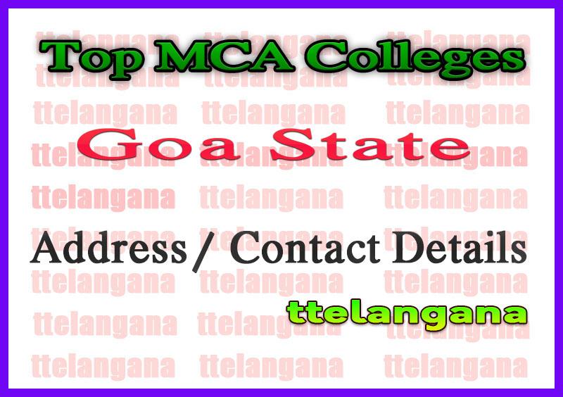Top MCA Colleges in Goa