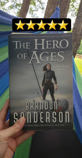 The Hero of Ages by Brandon Sanderson Rated