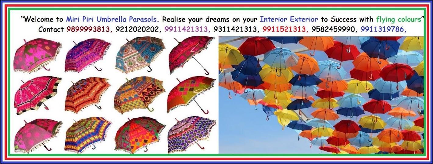 Rajasthani Umbrella Decoration Wedding Events Parties Online