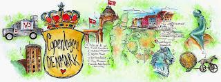 ilustração de Copenhagen