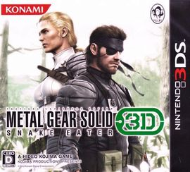 Rom Metal Gear Solid Snake Eater 3D 3DS