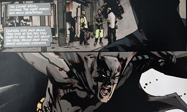 Batman Confronts Police Racism, InTori Lex, BookScoop