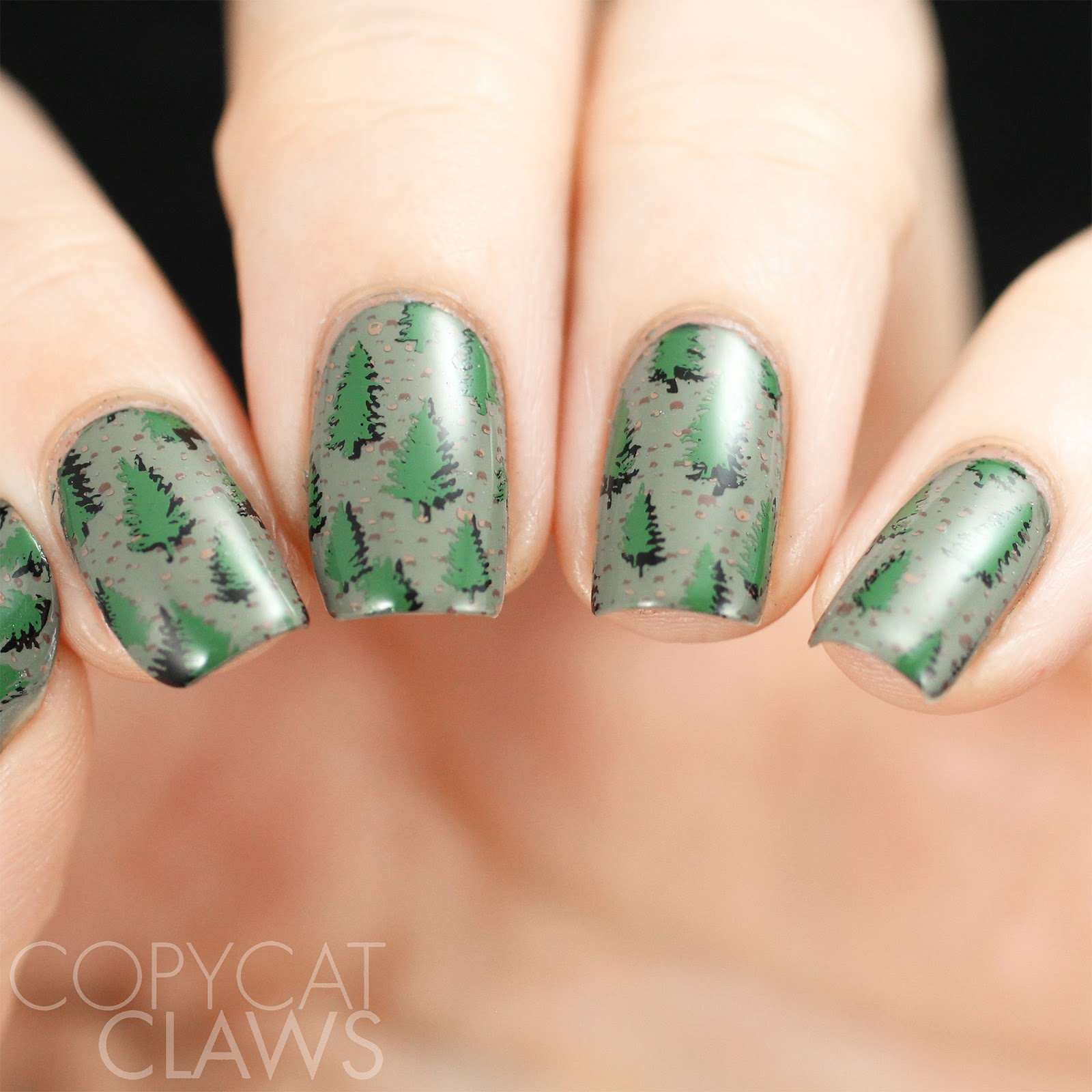 Copycat Claws: The Digit-al Dozen does Paper - Trees!