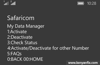 activate data manager