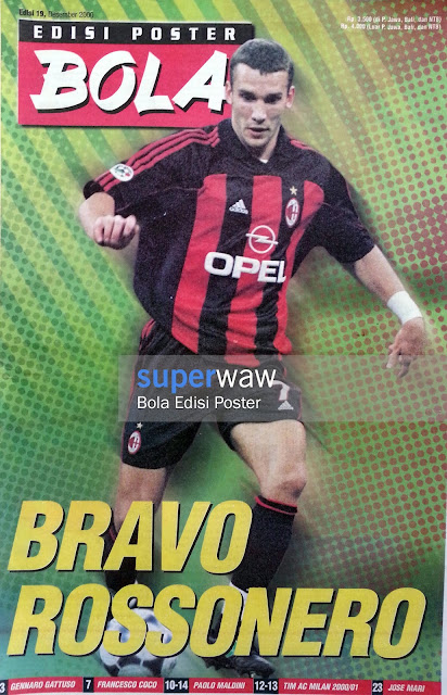 Bola Edisi Poster - BRAVO ROSSONERO