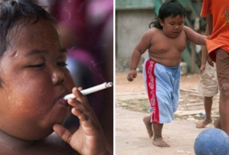 Remember The Chain Smoking Baby? Look At What He's Doing Now.