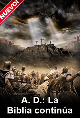 A.D. The Bible Continues (TV Series) S01 DVD R1 NTSC Latino 4xDVD
