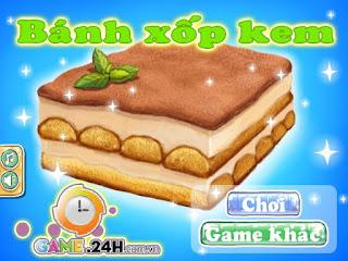 Game nấu ăn bánh xốp kem cực ngon