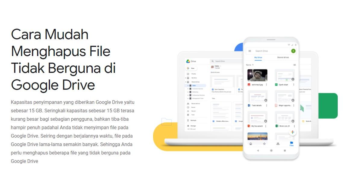Cara Mudah Menghapus File yang Tidak Berguna di Google Drive