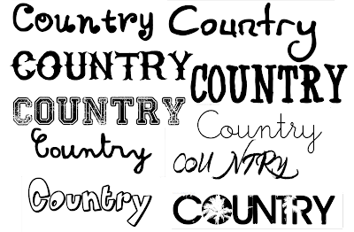 AS Media Studies: Masthead font styles