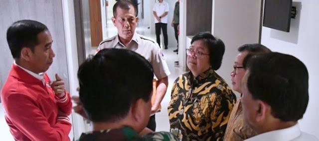 Aksi Demo Meluas, Jokowi Rapat Mendadak