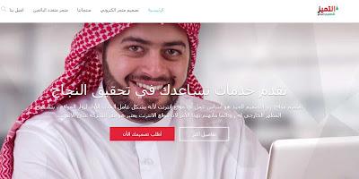 شركة التميز لتصميم مواقع الانترنت