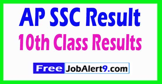 AP SSC Result 10th Class Results Download