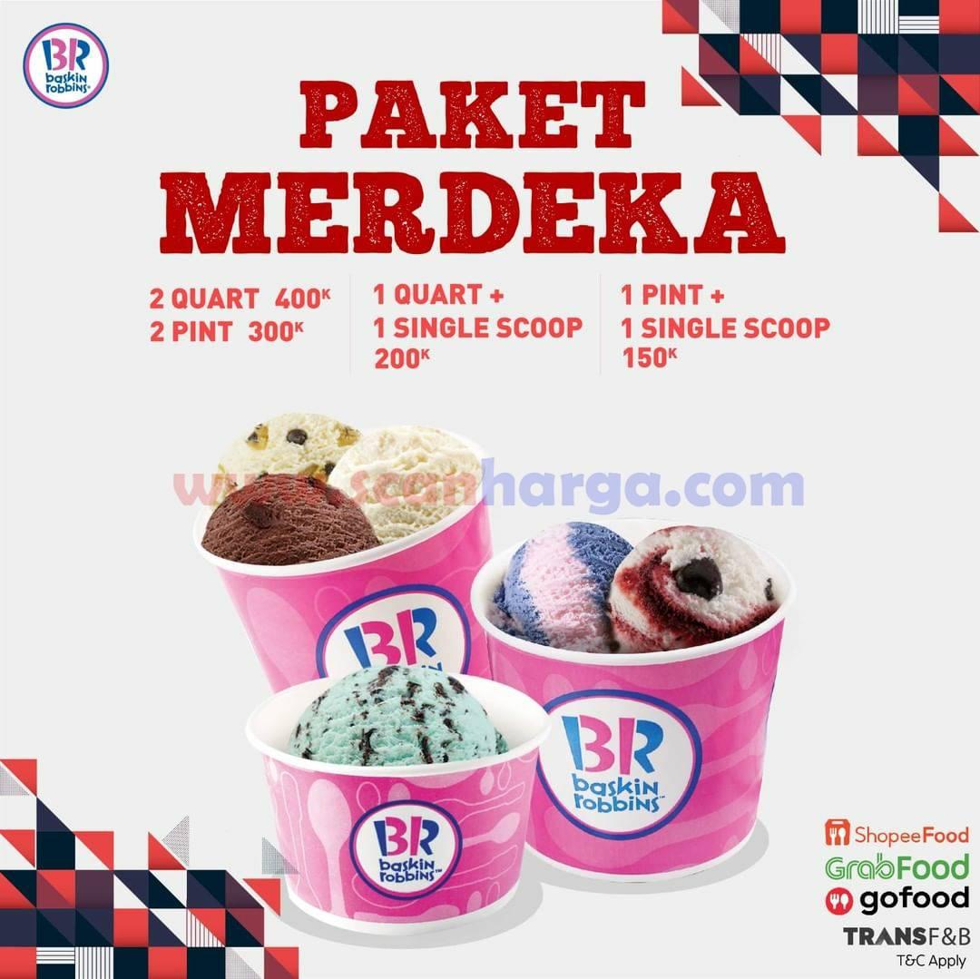 Promo Baskin Robbins Paket Merdeka hingga 31 Agustus 2021