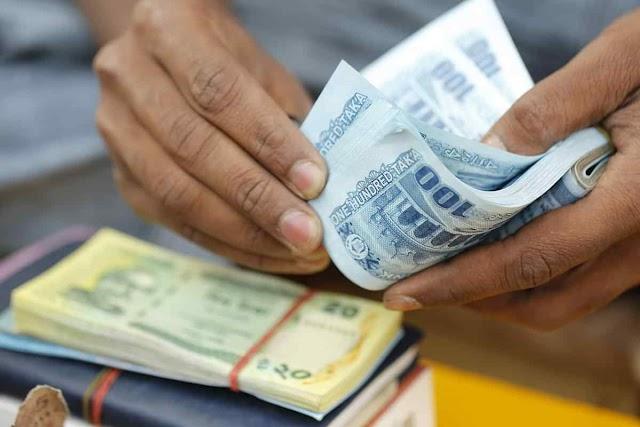 Corona virus was found in the money