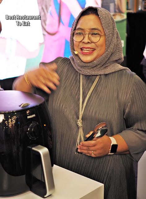 Philips Ambassador Chef Marina Hassan
