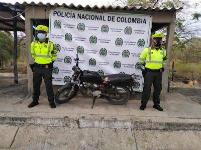 hoyennoticia.com, Inmovilizadas cuatro motos y un vehículo en carreteras guajira