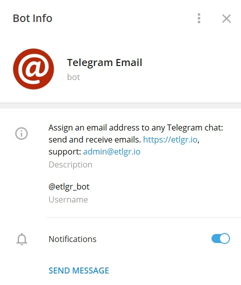 Telegram Email Bot