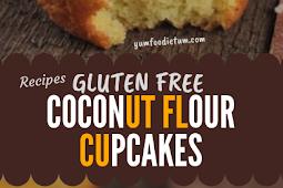 COCONUT FLOUR CUPCAKES GLUTEN FREE #glutenfree