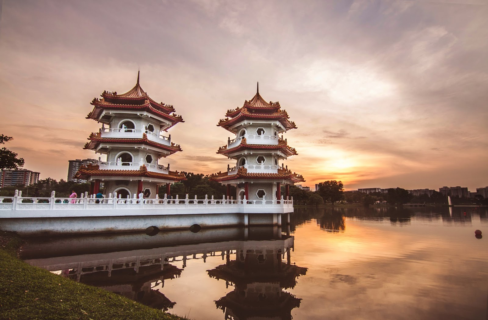 Pagoda in Singapore