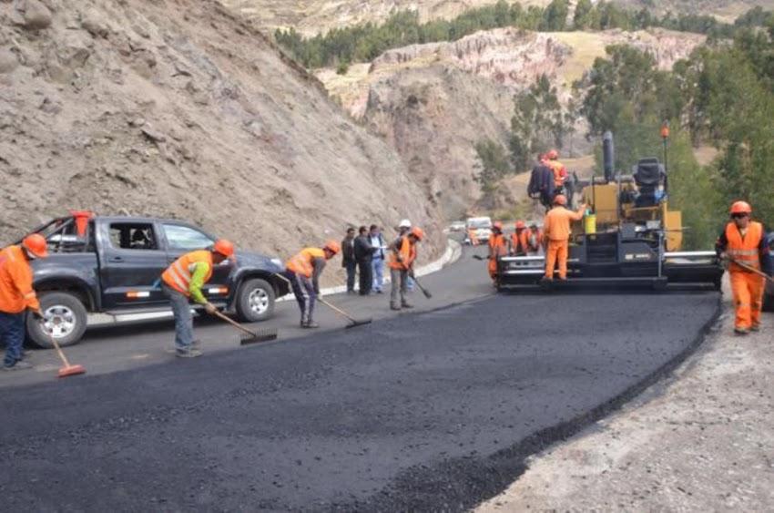 Las tres carreteras que serán asfaltadas en Cajabamba