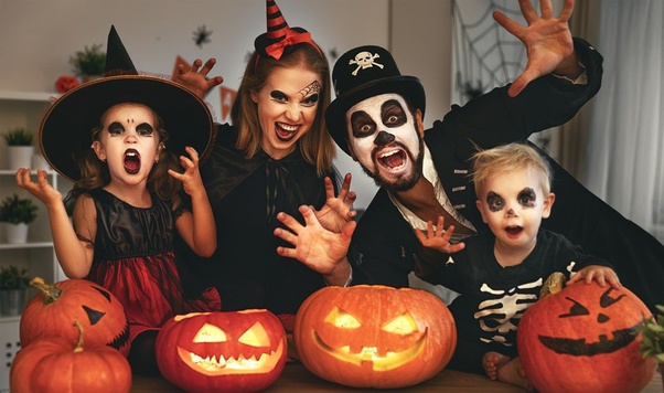 Halloween Family Celebration in Germany