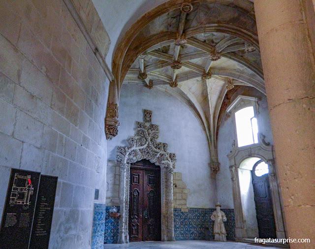 Sacristia Medieval do Mosteiro de Alcobaça, Portugal