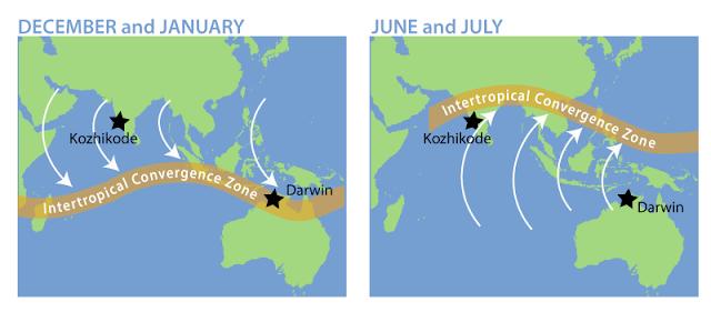Daerah Konvergensi Antar Tropik atau Doldrum itu Apa?