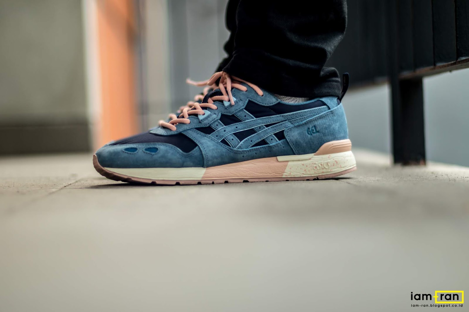 "IAM-RAN: ON FEET : Emil - Size? X Asics Gel Lyte OG ""36 Views"""
